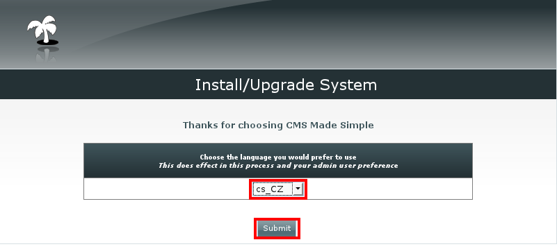 Instalace CMS Made Simple