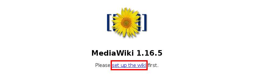 instalace MediaWiki